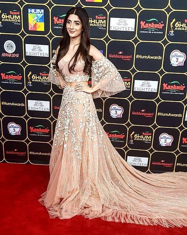 Beautiful Mawrahocane Shines At The Redcarpet Of 6thhumawards Celebrity Pakistaniartist Lollywood Indian Wedding Wear Indian Party Wear Designer Dresses