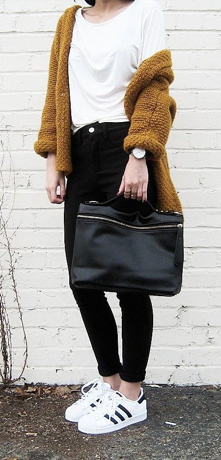 #fall #fashion / mustard knit