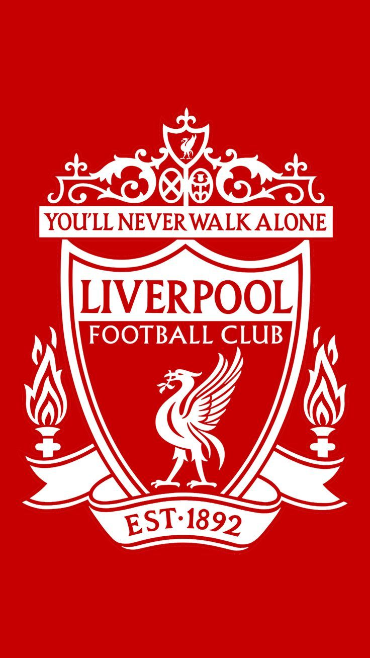 Liverpool FC Crest Red & White