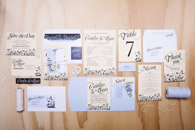 {something} Botanic   Invitation Suite   Something & Co. Design Studio