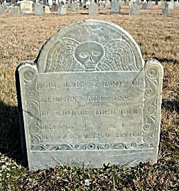 Gravestones Dated 1683 - 1880 or Later in Barnstable County, Massachusetts Gravestone Records from the 15 Towns of Cape Cod