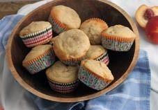 Recipe: Peach Yogurt Muffins