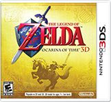 The Legend of Zelda™: Ocarina of Time™ 3D takes the Nintendo 64™ classic – one of the most critically acclaimed games ever made – and returns it to the Nintendo 3DS system with the added depth and realism of stunning, glasses free 3D visuals. In this game, Link™ sets off on a legendary journey through time to stop Ganondorf, the Gerudo King of Thieves who is seeking the Triforce, a holy relic that gives its holder ultimate power. The graphical upgrades and ...