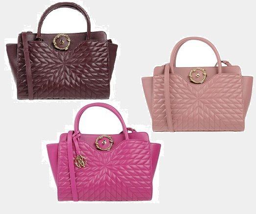 Taschen für Luxusfans - ROBERTO CAVALLI Damen Handtaschen #luxury #bags #luxus #vip