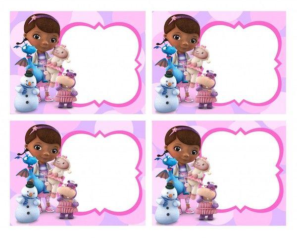 Resultado de imagen para centros de mesa de la doctora juguetes