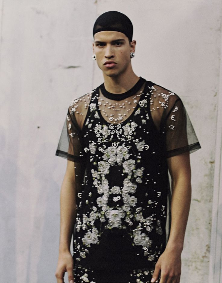 Chris Moore ph Harry Carr | Backstage at Givenchy S/S 2015