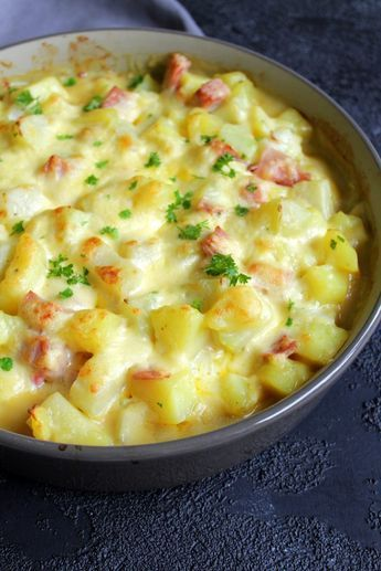 Kartoffel – Kohlrabi – Auflauf