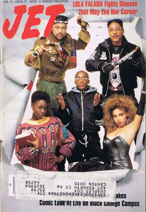 sugahsrevolution:    lustnspace:    Jet Magazine Feb. 1988 School Daze  :) I love this movie. The late 80's prolly weren't so bad to live through…….Unless you was on that crack.