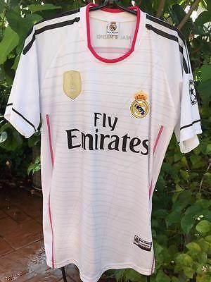REAL MADRID FOOTBALL CLUB #10 JAMES JERSEY FIFA 2014 sz 42