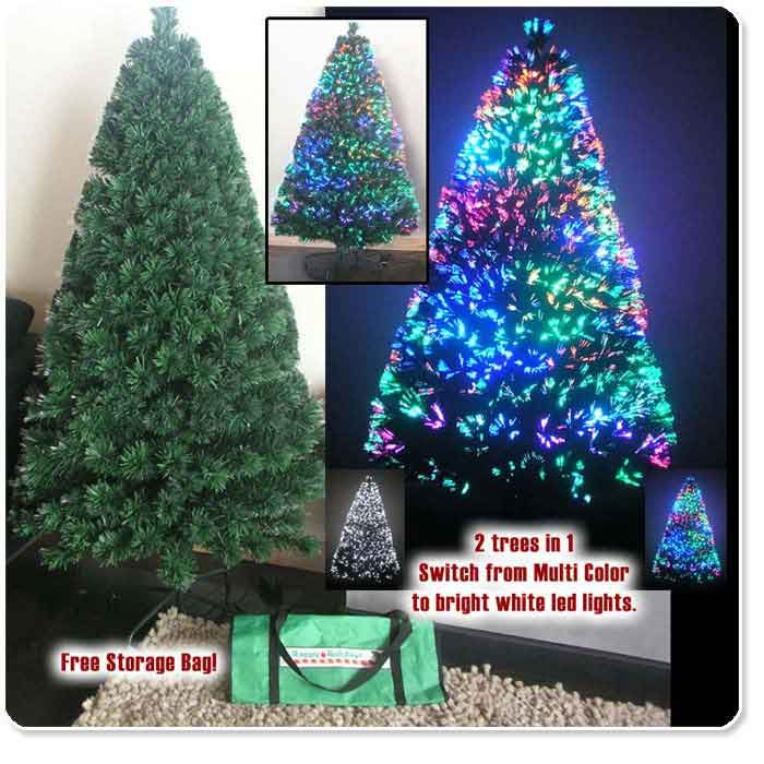 Where To Buy A Nice Artificial Christmas Tree: Fiber Optic Christmas Tree