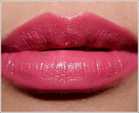 Laura Mercier lipstick. Glorya: She offers great lipstick that is long lasting and moisturizing for the lips.