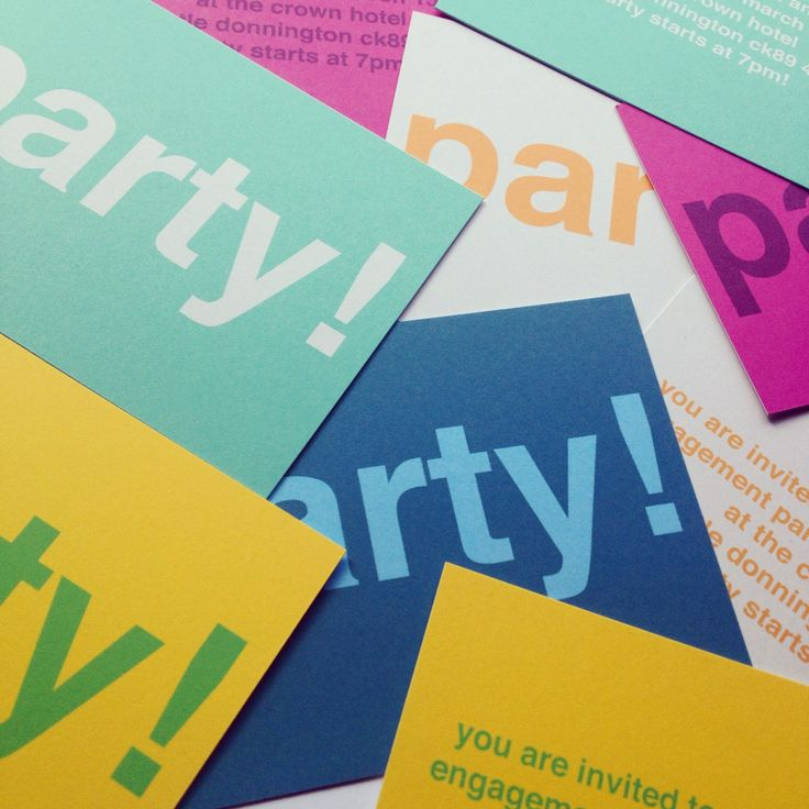 17 Best images about Modern Party Invitations – Personalised Party Invites Uk