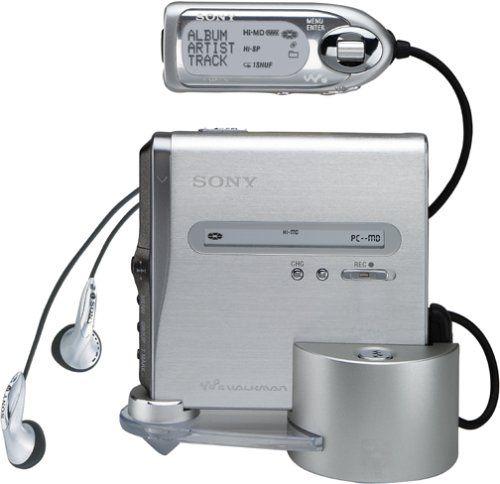 Sony MZ-NH1 Net MD / Hi-MD Walkman Portable Minidisc Player / Recorder