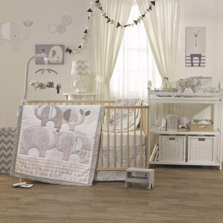 4-piece Crib Set - Naturi