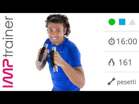 Tonificazione Braccia e Total Body con Pesetto - YouTube