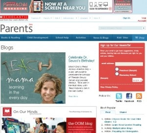 The teachmama site has great resources for any parent.