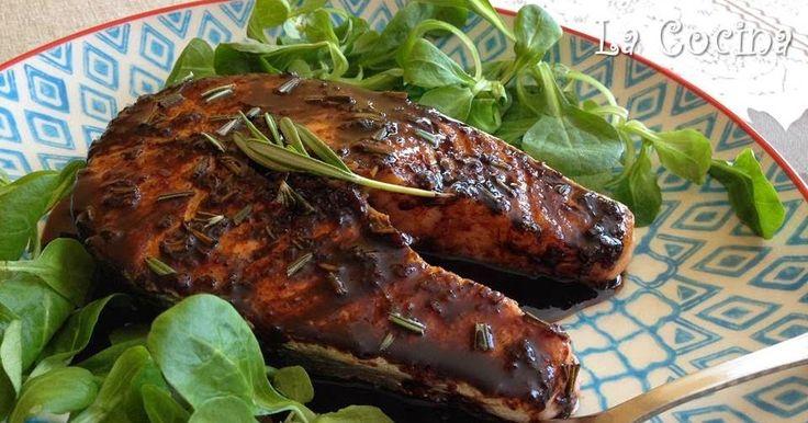 Twittear      Aunque por el color oscuro de la salsa de vinagre balsámico, este plato pueda no resultar muy atractivo a ...