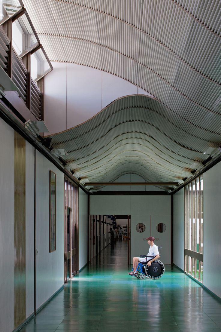 Hospital Sarah Kubitschek – Salvador / João Filgueiras Lima (Lelé)