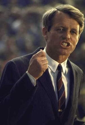 """Robert F. Kennedy: """"Let us dedicate ourselves to what the Greeks wrote so long ago... to tame the savageness of man and make gentle the life of this world.""""  --RFK"""