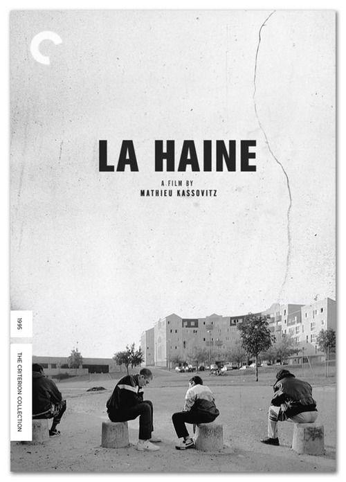 La Haine, dir: Matthieu Kassovitz | Criterion Collection cover