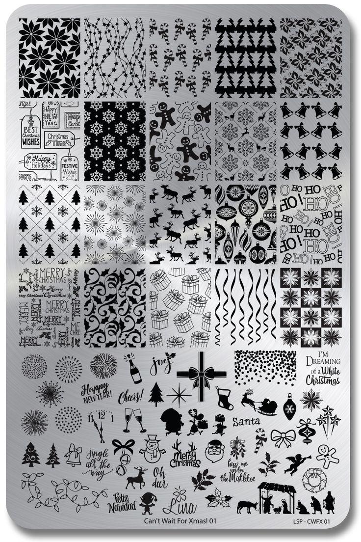 Can't Wait For Xmas! 01/Lina Nail Art Supplies