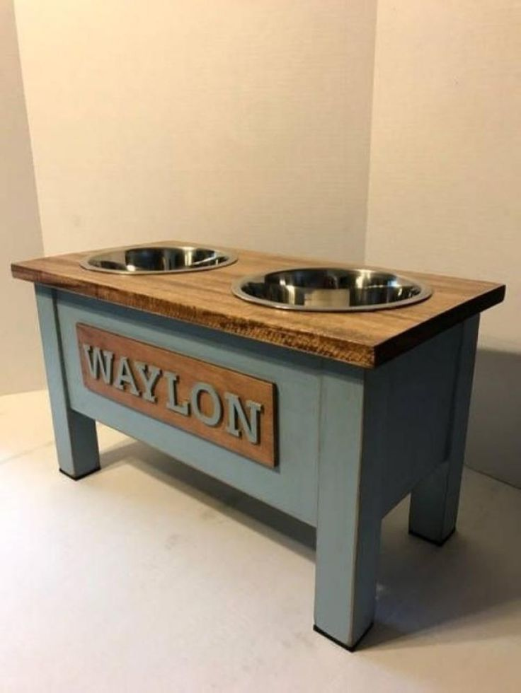 50 diy dog food station with storage from wooden diy dog