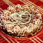 Fudge Lover's Strawberry Truffle Cake~The perfect Valentine's Treat!