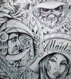 55 Best Lowrider Arte Images On Pinterest Lowrider Art Chicano Art And Lowrider