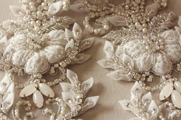 Hand Beaded Paris Romance Sash http://www.allysonjames.net/category_250/1/Millie-Icaro-Heirloom-Belts.htm