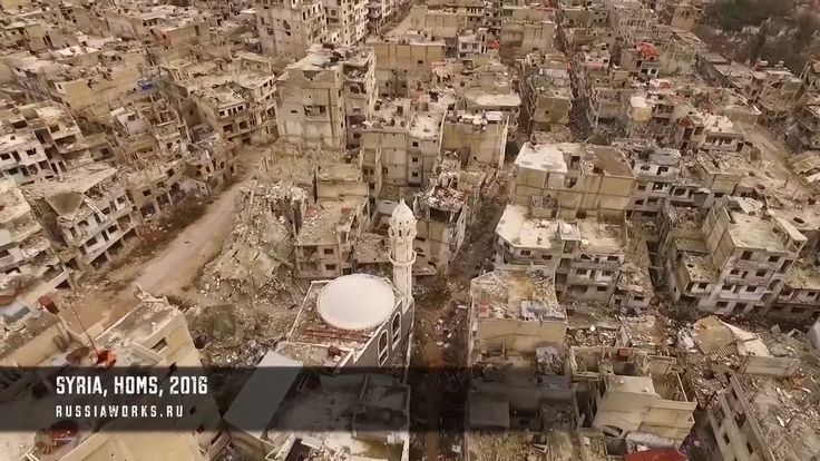 Destruction and Devastation scope in Syria today  Credits to Original Source, Russiaworks.ru