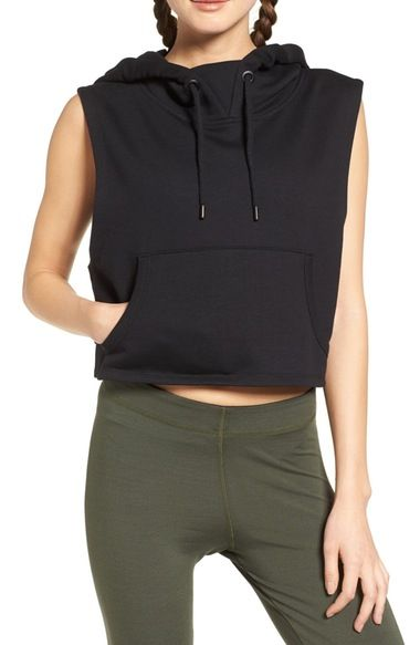 IVY PARK® Sleeveless Hoodie available at #Nordstrom