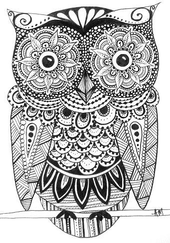 269 best owl coloring pages for adults images on pinterest owls owl and coloring books. Black Bedroom Furniture Sets. Home Design Ideas