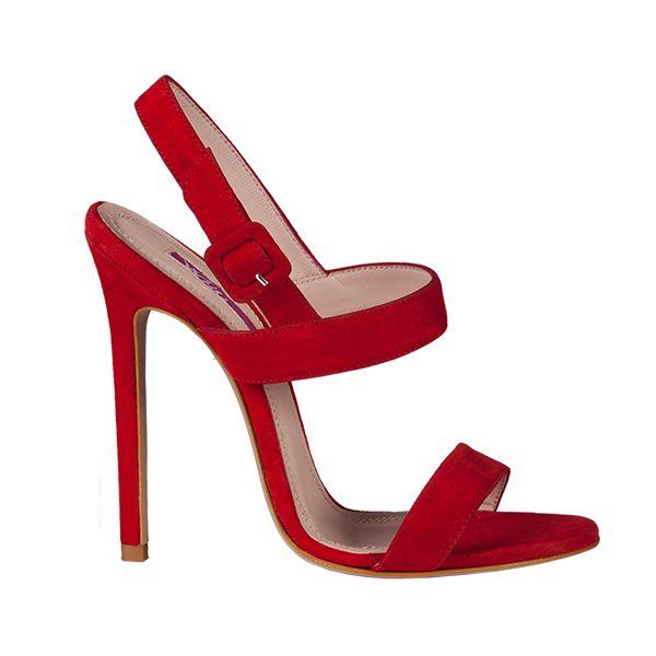 sandale din piele de caprioara