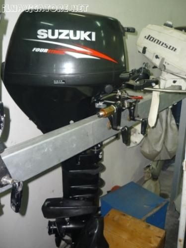 SUZUKI DF 15 L PARI AL NUOVO - ilnavigatore.net annunci motori fuoribordo