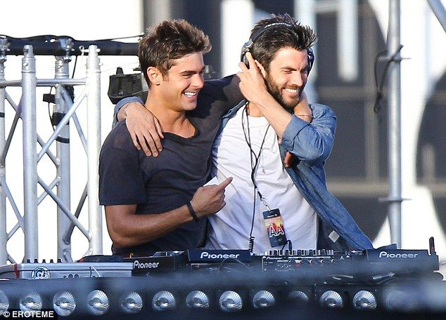 This guy!: Zac plays an aspiring DJ who is being mentored by 36-year-old American Beauty s...