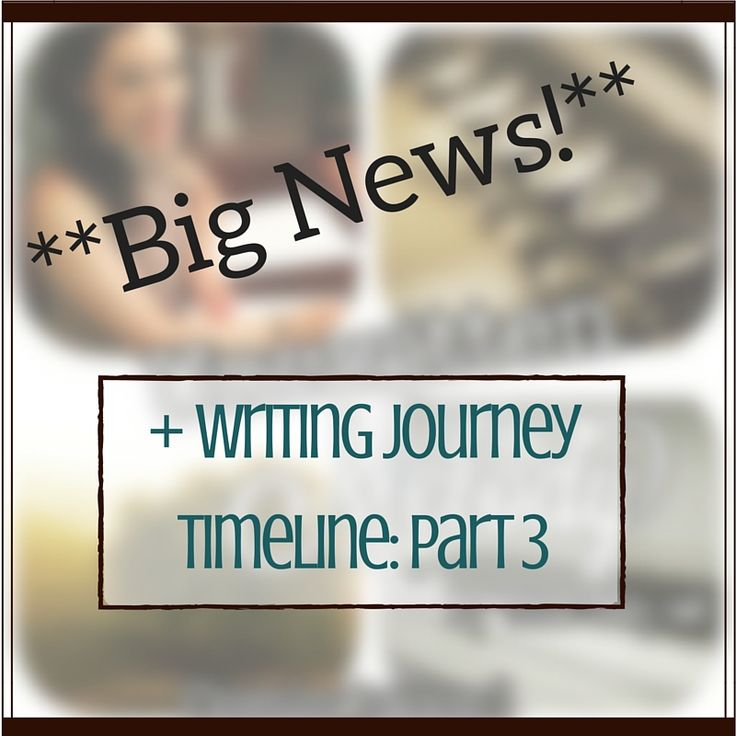 Writing Journey Timeline: Part 3 http://christiswrite.blogspot.com/2016/07/big-news-writing-journey-timeline-part-3.html #writerslife #writingjourney #yalitchat #booknerd #yalit #bookworm #booklove #betareader #blogtour #yaromance #yacontemporary #tessaemilyhall #amwriting #amblogging #christiswrite