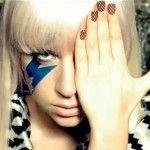 Lady Gaga nails #nail #nails  #beauty #nailpolish #nailart #makeup #nailmania #hands #ladygaga
