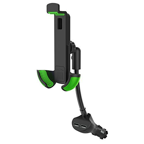 From 12.99:Car Phone Holder And Charger - Lemego 2 In 1 Universal Car Mount With Dual Usb Charger - In Car Phone Holder
