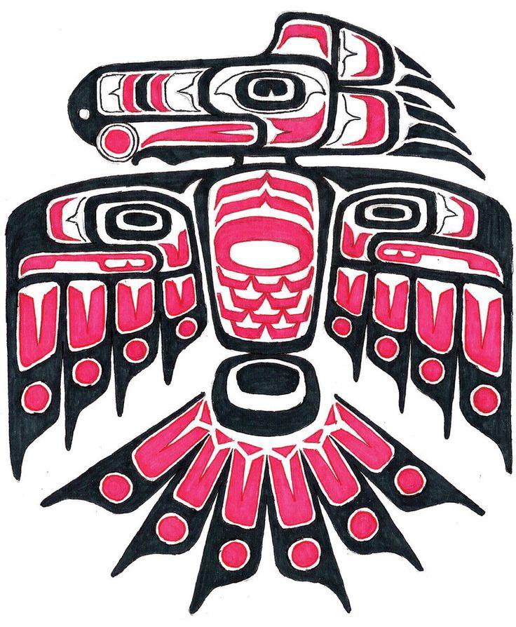 Study of Native American First Nation Haida Art