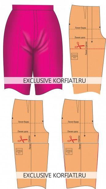 Trousers /Pants - Fitting and pattern alteration. Устранение дефектов брюк
