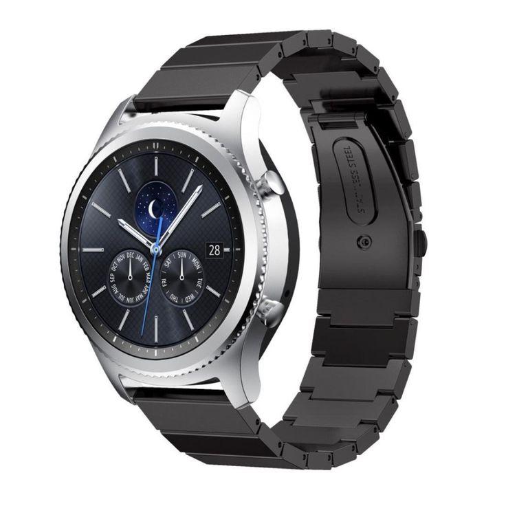 Часы из нержавеющей Стали Группа Стандартный 22 мм широкие связи Для Samsung передач S3 Классический Границы Smart Watch Ремешок Ремешок для передач s3 #CLICK! #clothing, #shoes, #jewelry, #women, #men, #hats