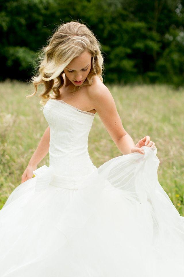Mooie bruidsjurk