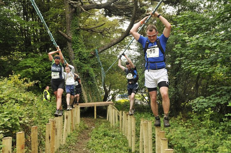 """an obstacle race is easy; training on playgrounds & """"nature's obstacle ..."""
