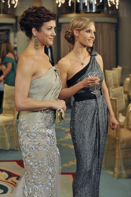 Still of Kate Walsh and KaDee Strickland in Private Practice, these two and their fashion sense are brilliant!