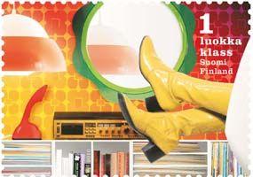 Vuoden 2010 postimerkeissä rokkia, poppia ja romantiikkaa