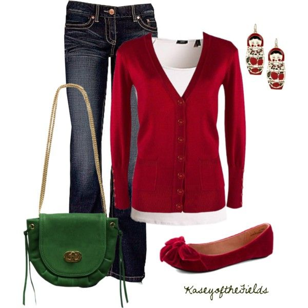 simple and I love red