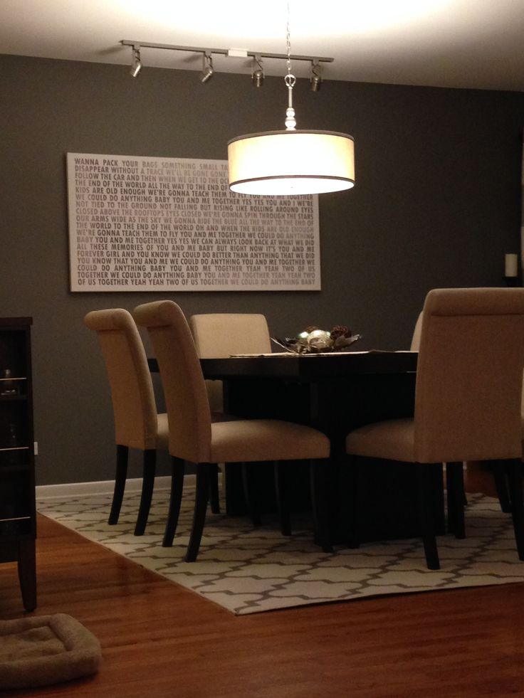 Large Word Art For The Dining Room Canvas Designed And Printed By Geezees