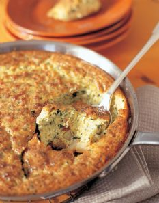 Barefoot Contessa - Recipes - Puffed Potato Basil Frittata