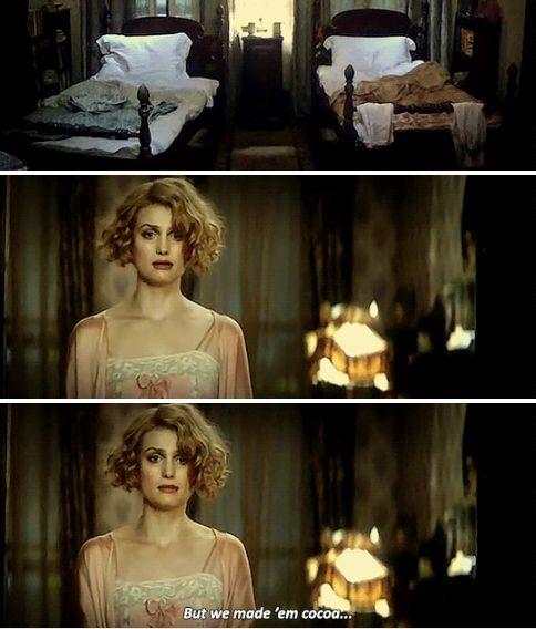 Fantastic Beasts - Tina and Queenie lean out of their bedroom window, craning into the dark. Another bellowing roar reverberates through the winter night. Tina and Queenie burst into the bedroom where Jacob and Newt are meant to be asleep. Every trace of the two men has gone. Furious,Tina storms off to dress. Queenie looks upset.