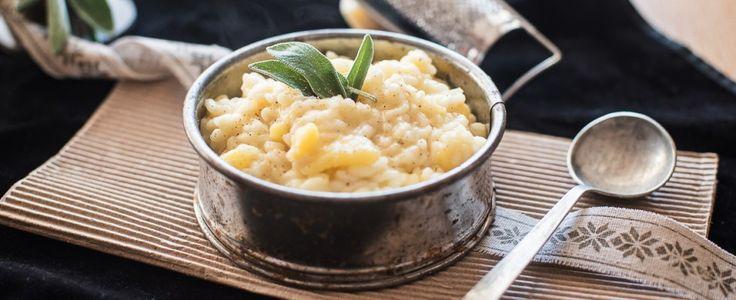 Vegetariano: riso e patate